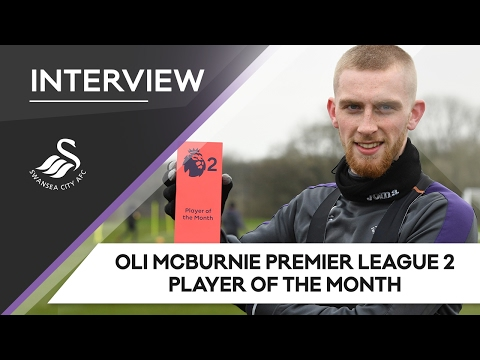 Swans TV - Oli McBurnie Premier League 2 Player of the Month