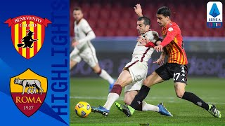 Benevento 0-0 Roma | Neither Side Break The Deadlock In Goalless Draw | Serie A TIM