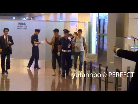 20120724 Kim hyunjoong Haneda Arrival