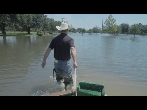 Winnie, Texas got all the same flooding as Houston, but none of the attention