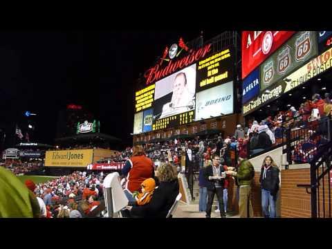Stan Musial Harmonica Tribute 4/12/13 Busch Stadium
