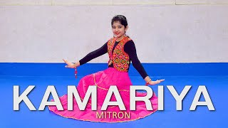 Kamariya - Mitron | Best Dance For Girl | Garba Dance Choreography | Easy Steps | Cover | Harshikha