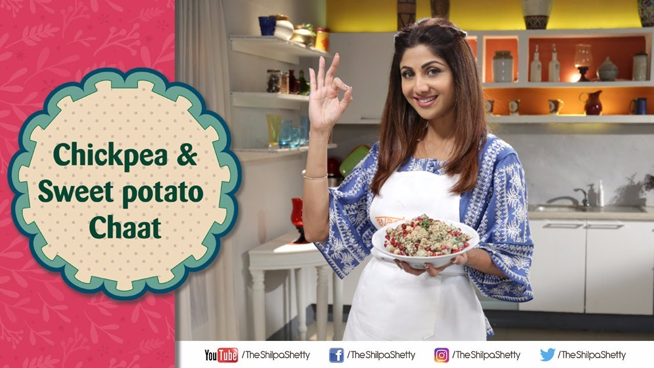 Chickpea and sweet potato chaat shilpa shetty kundra healthy chickpea and sweet potato chaat shilpa shetty kundra healthy recipes the art of loving food forumfinder Choice Image