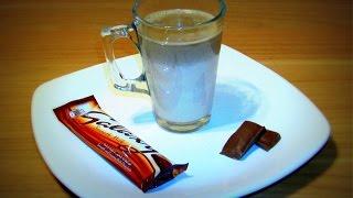 شوكولاتة ساخنة بزبدة الفول السوداني