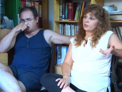 Jenny Wasiuk y Miguel Arzamendia  en ASOMBRADOS TVM (Canal 27)