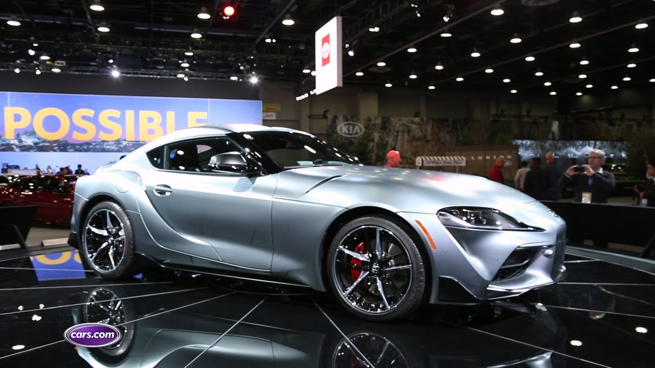2020 Toyota Supra First Look Cars Com Youtube