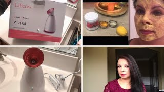 At Home Facial For Clear Glowing Skin || Natural Face Mask || Ami