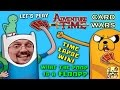 Adventure Time Card Wars iOS App Game! FGTEEV VICTORY Floop the Magic Man Magician Guy Finn