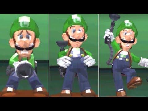 Luigi's Mansion: Dark Moon 100% Reward - All Ghosts, Boos & Statues (Complete Vault)
