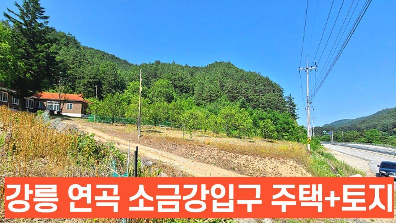 강릉 소금강 입구 주택+토지 리더스공인중개사033-642-2830