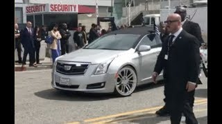 Nipsey Hussle Casket Rides Through Streets Of LA After Funeral