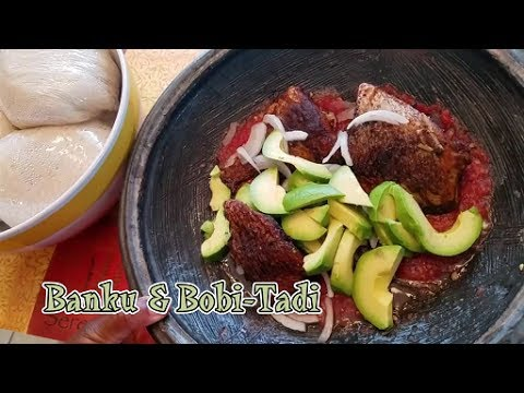 Authentic Ghana Locale | Banku with Bobi Tadi | StellaZone