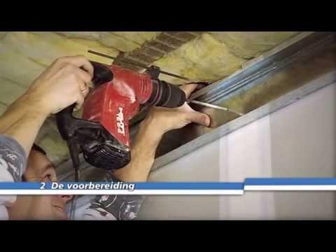 Vaak Een Metal Stud-plafond hangen - YouTube LX16