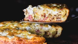Easy Potato Frittata with Sopressata | SAM THE COOKING GUY