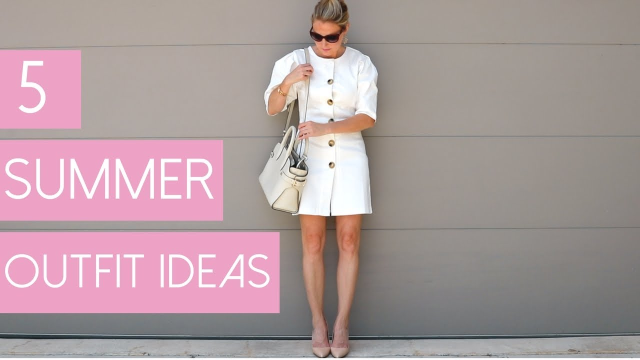 5 Summer Outfits | Fashion Over 40 - YouTube