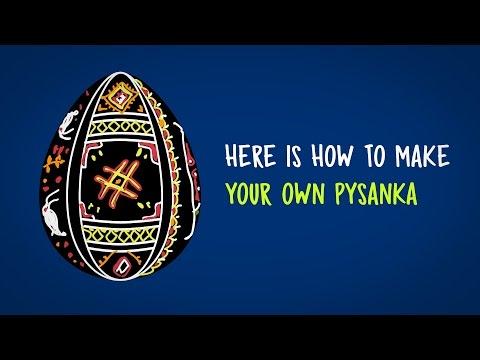 How to make Ukrainian pysanka Easter eggs