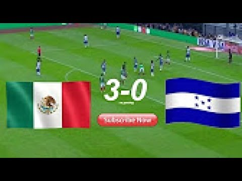 Мексика - Гондурас 3:0 видео