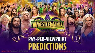 WWE WRESTLEMANIA 34 PPV Event Match Card and Predictions Rundown