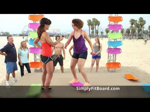 picture relating to Simply Fit Board Printable Workouts named Effortlessly Suit Board® - The Training Board with a Twist