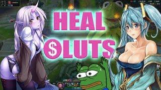 League of Legends Healsluts