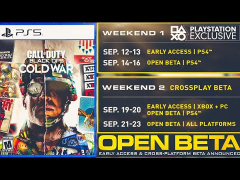 Black Ops Cold War Open Beta Coming Soon Release Date Reveal Trailer More Cod 2020 Reveal Youtube