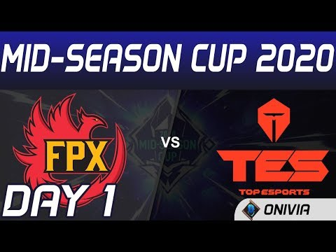 FPX Vs TES Highlights Day 1 Mid Season Cup 2020 FunPlus Phoenix Vs Top Esports By Onivia