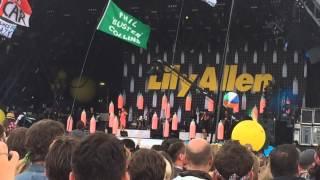 Lily Allen - Smile @ Glastonbury 2014