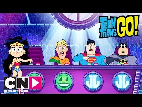 Audition pour la Justice League   Teen Titans Go!  Cartoon Network