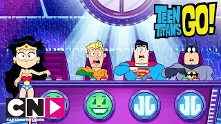 Audition pour la Justice League | Teen Titans Go!| Cartoon Network thumbnail