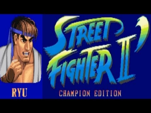 Street Fighter II - Champion Edition - Ryu (Arcade)