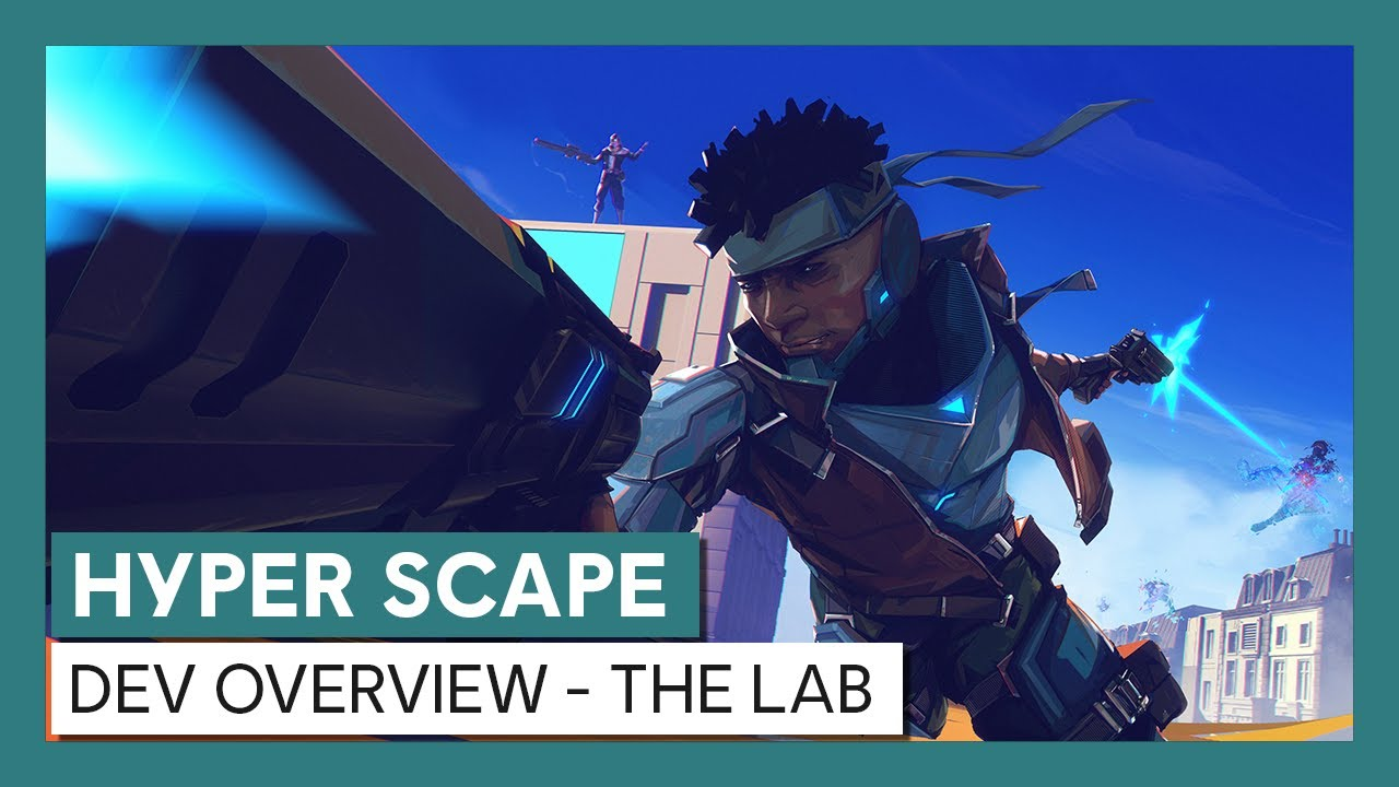 Hyper Scape Lab Dev Overview: Crossplay, Team Deathmatch, & Arcadium