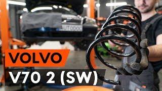 Kaip pakeisti priekinė pakabos spyruoklė VOLVO V70 2 (SW) [AUTODOC PAMOKA]