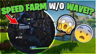 HOW TO SPEED FARM WITHOUT WAVE EMOTE - GET 999+ MATERIALS INSTANTLY! | Fortnite: Battle Royale