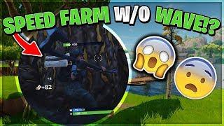 COMO VELOCIDAD FARM SIN WAVE EMOTE - ¡OBTENGA 999+ MATERIALES INSTANTEMENTE! Fortnite: Battle Royale