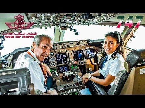 CHARMING CREW Pilots The RAM BOEING 747