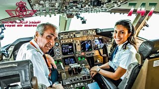 CHARMING CREW Pilots the RAM BOEING 747