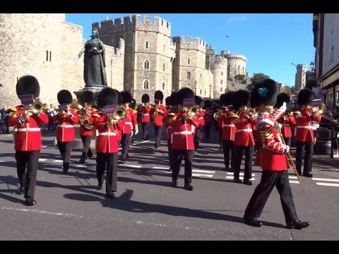 Changing the Guard at Windsor Castle - Friday the 6th of October 2017