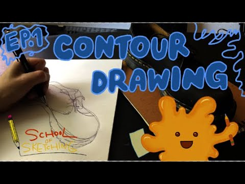 Contour Drawing | Visual Art | ArtistYear Create