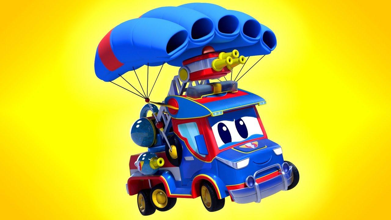 Phim hoạt hình về xe tải dành cho thiếu nhi –  GIÁNG SINH – Những cái cầu điện gây cháy !!