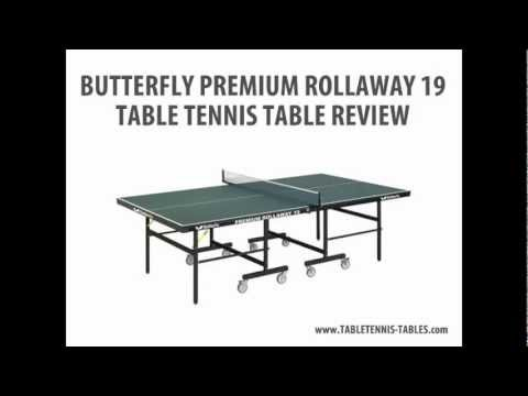 Butterfly Premium Rollaway Table Tennis Table Review