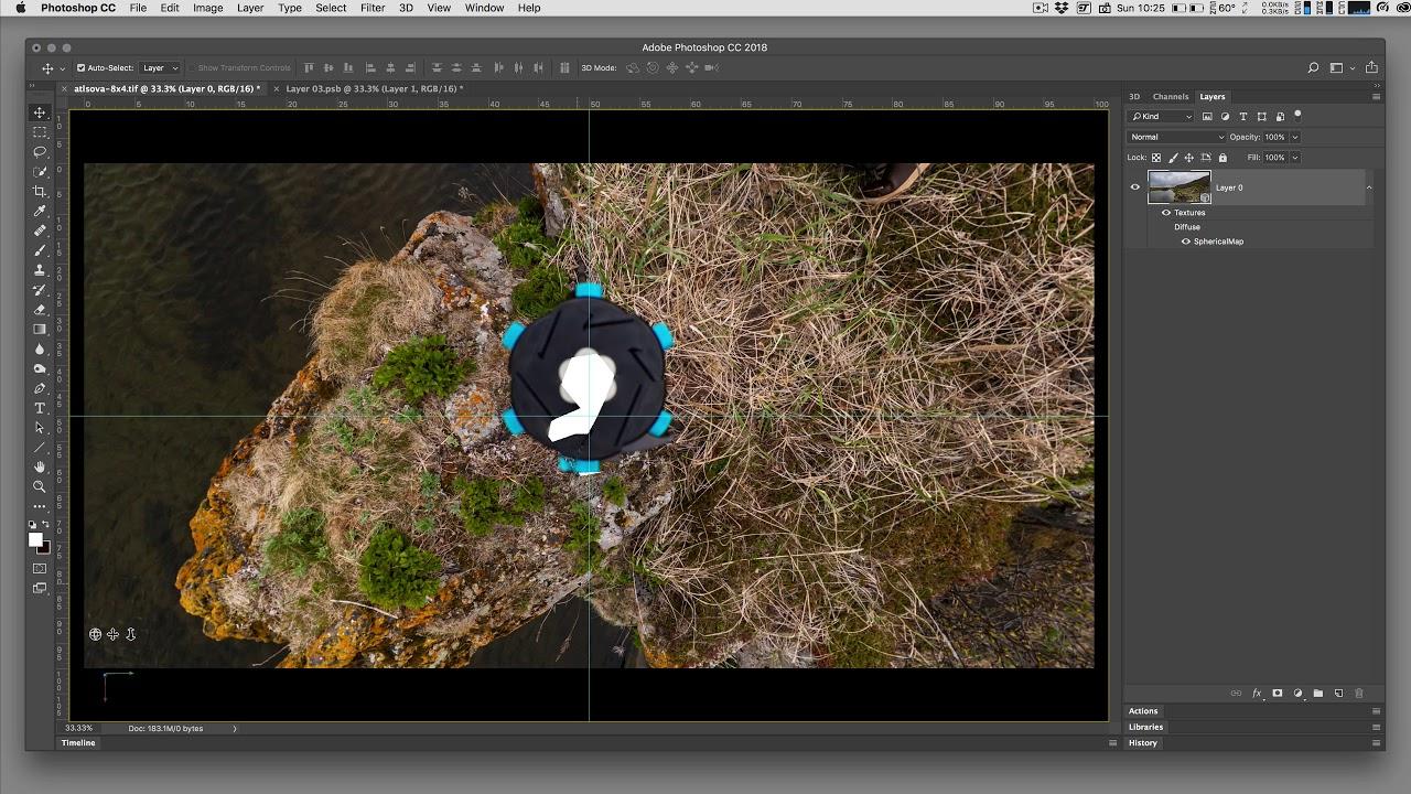 Photoshop CC now has native 360 photo editing - 360 Rumors