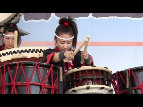 飛龍高校 和太鼓部 -  第2回全国高校生太鼓甲子園 最優秀賞 富士山太鼓まつり