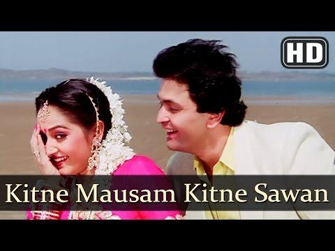 Kitne Mausam Kitne Sawan (HD) - Ghar Ghar Ki Kahani Song - Rishi Kapoor- Jaya Prada - 80s Hindi Song