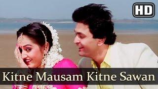 Kitne Mausam Kitne Sawan (HD) Ghar Ghar Ki Kahani Song Rishi Kapoor Jaya Prada 80s Hindi Song