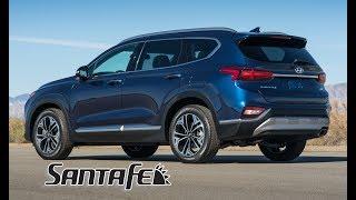 2019 Hyundai Santa Fe Interior, Exterior and Drive