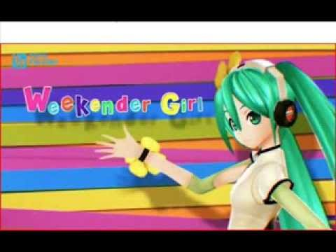 Hatsune Miku - Weekender Girl Lyrics [kz(livetune)]
