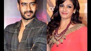 Ajay Devgan Really Cheat Raveeva Tandon ?
