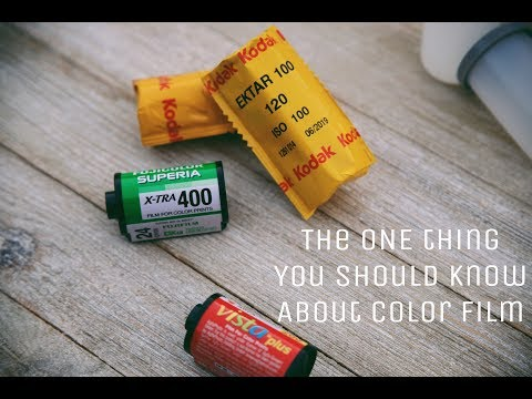 The ONE thing you should know about Color Film ....