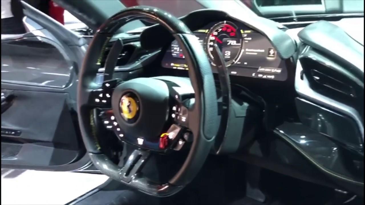 Ferrari Sf90 Stradale Interior 2020 Launch Youtube