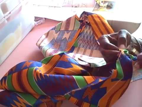 Tina's Tailored Kente Jacket step by step 9 18 15 Part 2